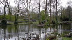 Tierpark «Lange Ehrlen» wegen Sturm «Andrea» geschlossen.