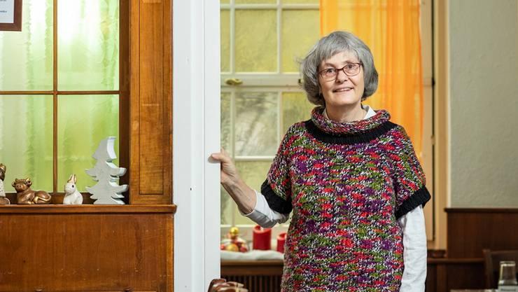 Den Hilfsbedürftigen ihre Würde zurückzugeben, ist eines ihrer wichtigsten Anliegen. Daniela Fleischmann im Restaurant Hope an der Stadtturmstrasse.