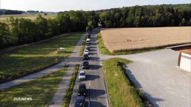 Riesen-Verkehrschaos wegen Vollsperrung an Schönenwerd-Kreuzung