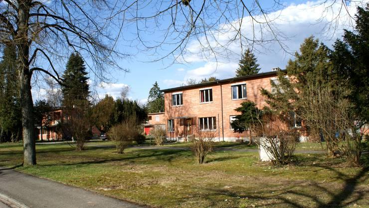 Die Backsteinhäuser im idyllischen Bata-Park stehen schon längst unter Denkmalschutz.  az-Archiv/ach