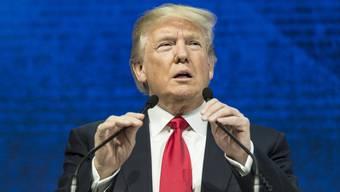 In Davos gab Trump dem britischen Sender ITV ein Interview.