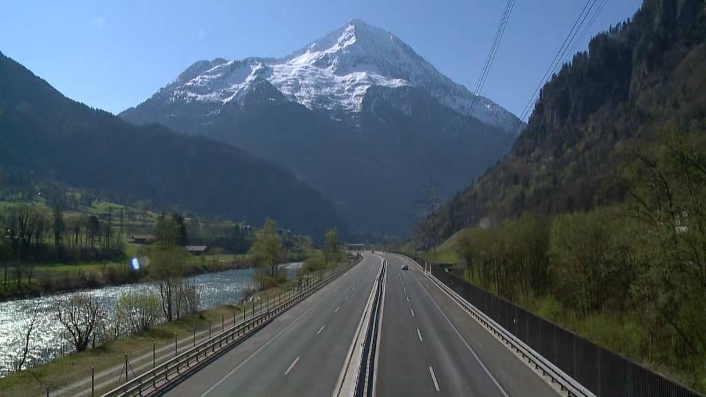 Die Bitte ist angekommen: Kein Osterstau am Gotthard