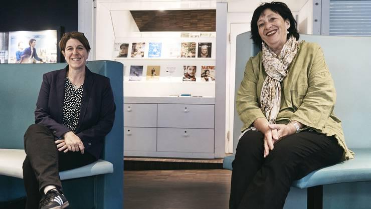 Die neue und die ehemalige Kultkino-Geschäftsleiterin: Gini Bermond (links) und Romy Gysin.