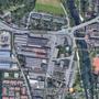 In diesem Gebiet soll der Stöcklin-Quartierplan entstehen.