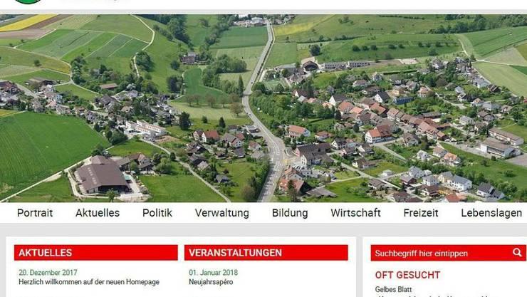 Die Gemeinde Effingen veröffentlichte auf ihrer Website aus Versehen die Namen der Sozialhilfebezüger.