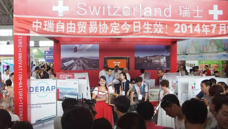 Am Swissday in China gab es ein Zusammentreffen der Kulturen