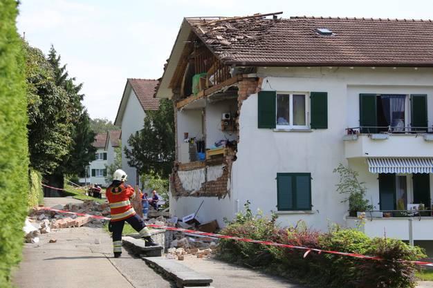 Explosion in Bieler Wohnquartier