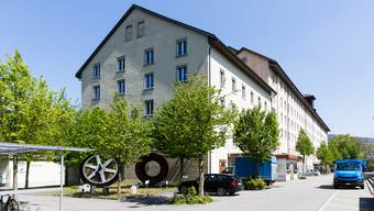 Das ehemalige Spinnerei-Gebäude in Turgi. (Bild: 21. April 2017)