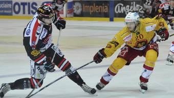 Julien Sprunger konnte die Niederlage Fribourgs nicht verhindern