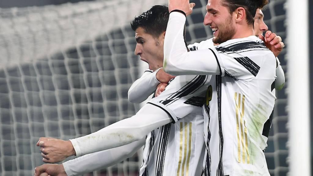 Juventus Turin gewinnt und rückt näher an die Spitze
