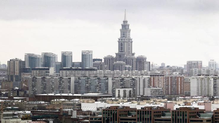 Wohnblocks in Moskau (Symbolbild).