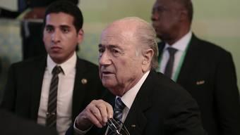 Das war's: Zeitungen kommentieren den Rücktritt von FIFA-Präsident Sepp Blatter (Archiv)