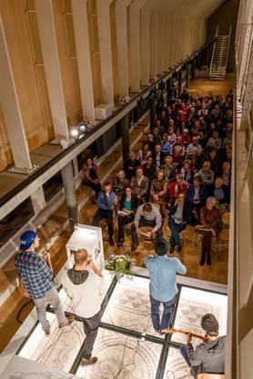 Am Montag fand im Historischen Museum die Vernissage zu den Neujahrsblättern 2017 statt.