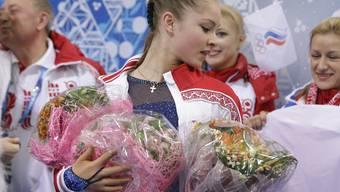 Yulia Lipnitskaya verzauberte Russland 2014 in Sotschi.
