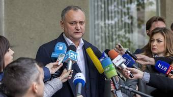 Sozialistenführer Igor Dodon steht vor dem Wahlsieg in Moldau: Er will sein Land näher an Russland heranführen.