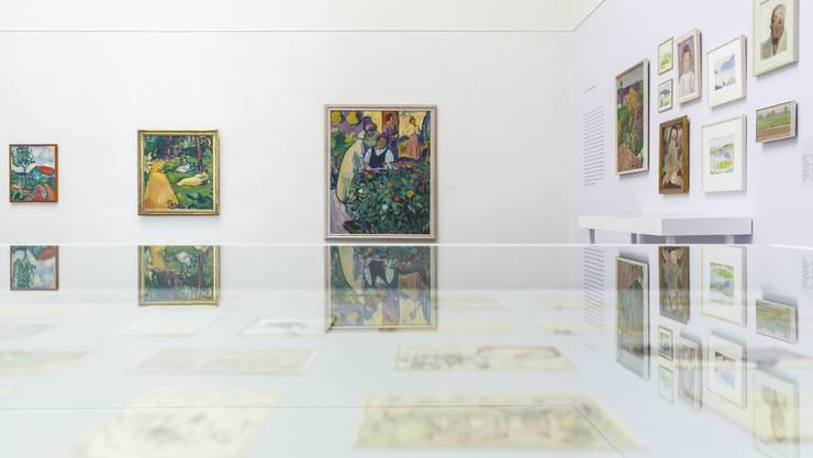 Ausstellung mit Werken von Cuno Amiet im Kunstmuseum Solothurn