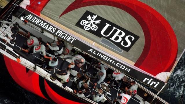UBS streicht Alinghi die Sponsoring-Gelder (Archiv)