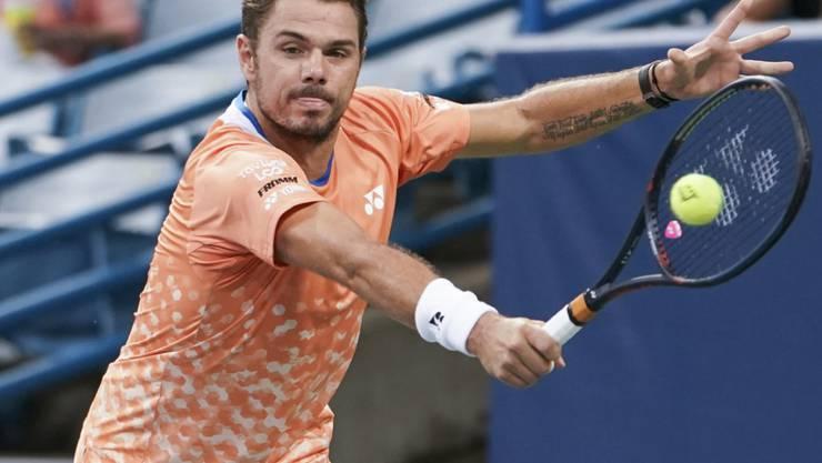 Stan Wawrinka hat sein Tennis-Gefühl in Nordamerika wieder gefunden
