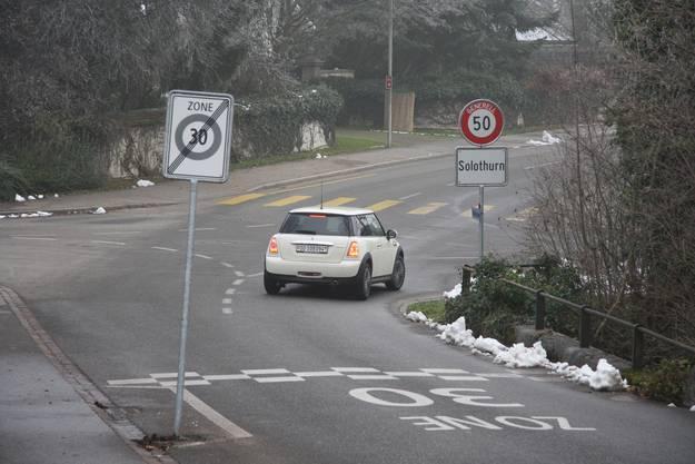 Bei der Wahl der Busvariante würde alles so bleiben - Feldbrunnen 30 und Solothurn 50
