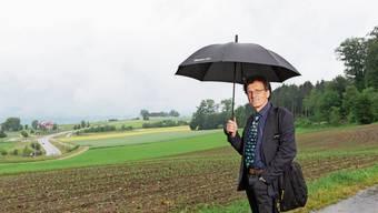 Johannes Jenny, Geschäftsführer von Pro Natura, verlangt den Verzicht auf die Villenzone.