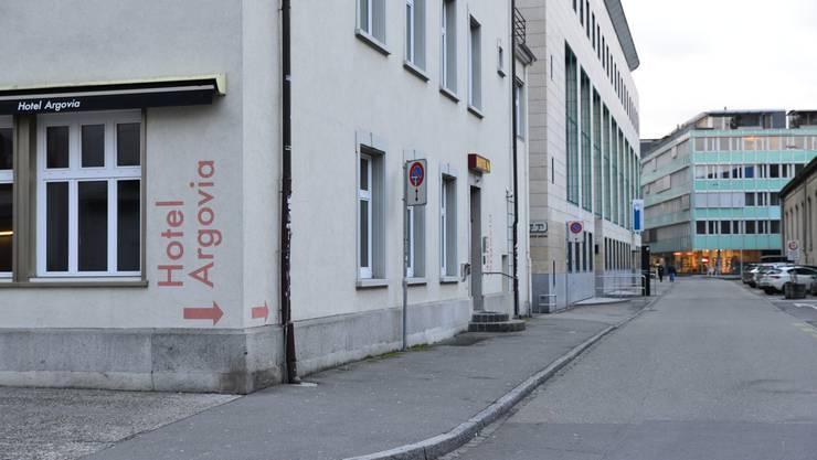 Das ehemalige Hotel Argovia soll abgerissen werden.