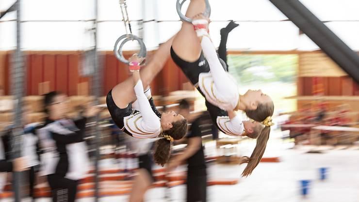 Am zweiten Wochenende standen am Eidgenössischen Turnfest in Aarau gut 40'000 Turnerinnen und Turner im Einsatz