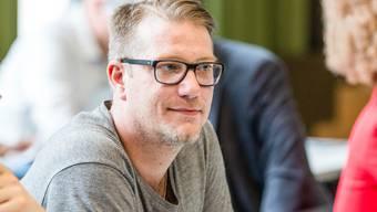 Will die Bevölkerung zum Lesen animieren: Manuel Kampus, der Schlieremer Gemeinde- und Kantonsrat der Grünen