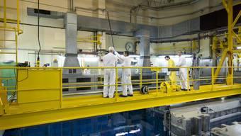 Blick ins AKW Beznau. Durch den Atomausstieg sollen neue Jobs entstehen.