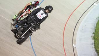 Steher Giuseppe Atzeni glänzt an der Bahn-EM mit der Bronzemedaille