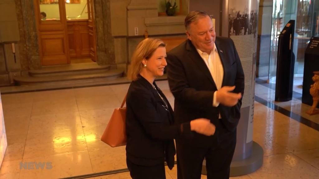 US-Aussenminister Pompeo zu Besuch im Bundeshaus