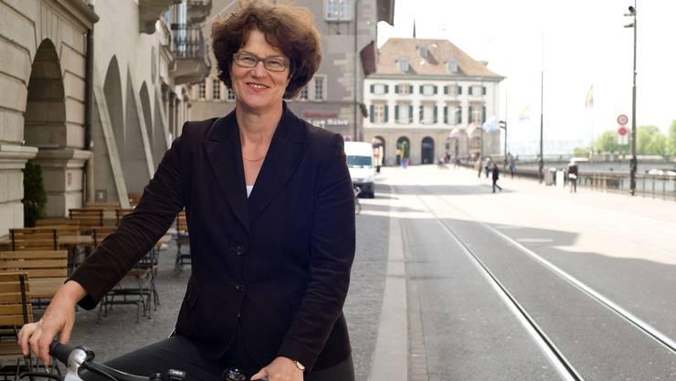 «Wir müssen den Verkehr an die städtischen Bedürfnisse anpassen - und nicht umgekehrt»: Ruth Genner, Stadträtin.