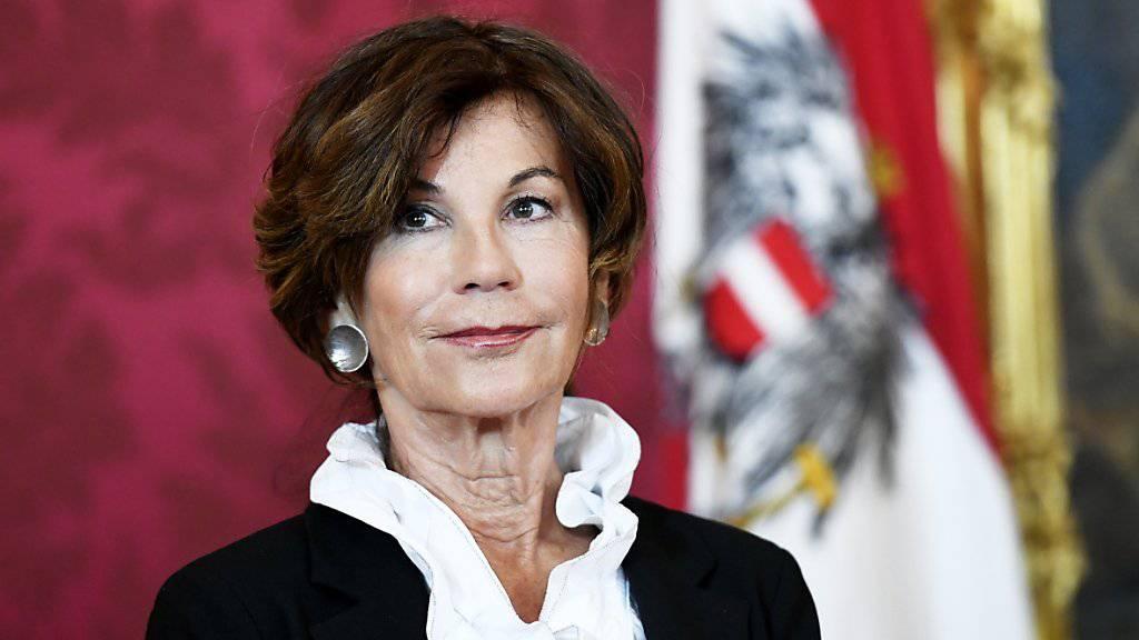 Brigitte Bierlein ist die erste Kanzlerin Österreichs. Sie war seit 2018 Präsidentin des Verfassungsgerichtshofs.