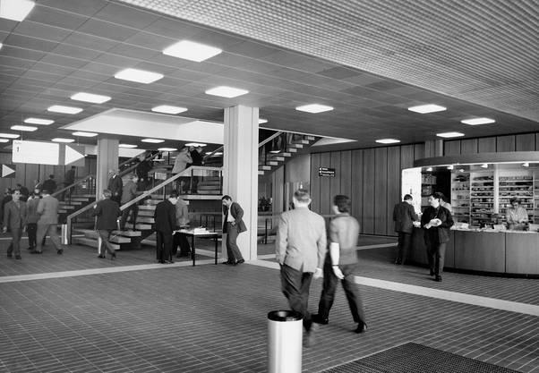Eingangshalle Klybeck-Kantine, 1968