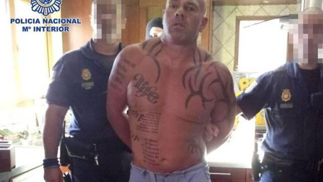 Drogenhändler Mark Alan Lilley bei seiner Festnahme