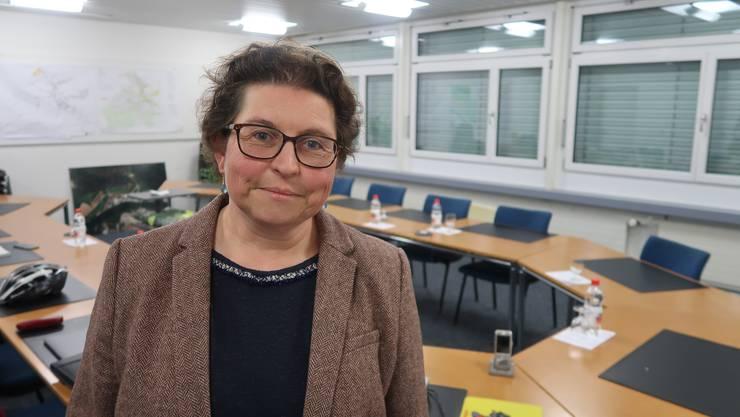 Sandra Morstein nach ihrer Wald zur Vizegemeindepräsidentin.