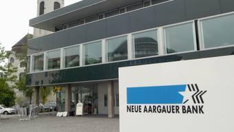 In der Stadt Brugg arbeiten knapp 200 Personen bei der Neuen Aargauer Bank.