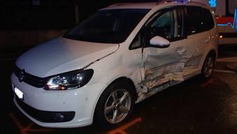 Unfall mit drei Verletzten in Döttingen