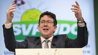SVP-Parteipräsident Albert Rösti.