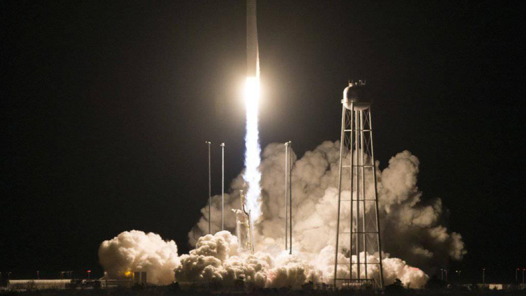 Raumfrachter «Cygnus» liefert neue Experimente