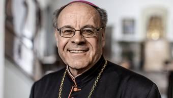 Vitus Huonder hat eine interne Umfrage gestartet, um die Stimmung für ein eigenes Bistum Zürich auszuloten (Archivbild).