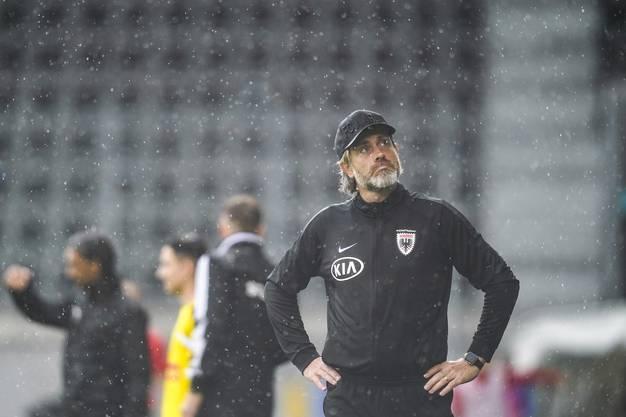 Für Neo-Coach Stephan Keller ist es der erste Sieg im siebten Spiel mit dem FC Aarau.