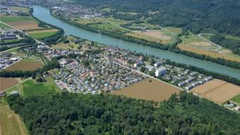 In Sisseln ist im Richtplan ein Rheinübergang eingetragen – bis er realisiert werden könnte, ist es aber noch ein weiter Weg.