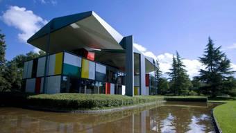 Der Pavillon le Corbusier im Zürcher Seefeld.