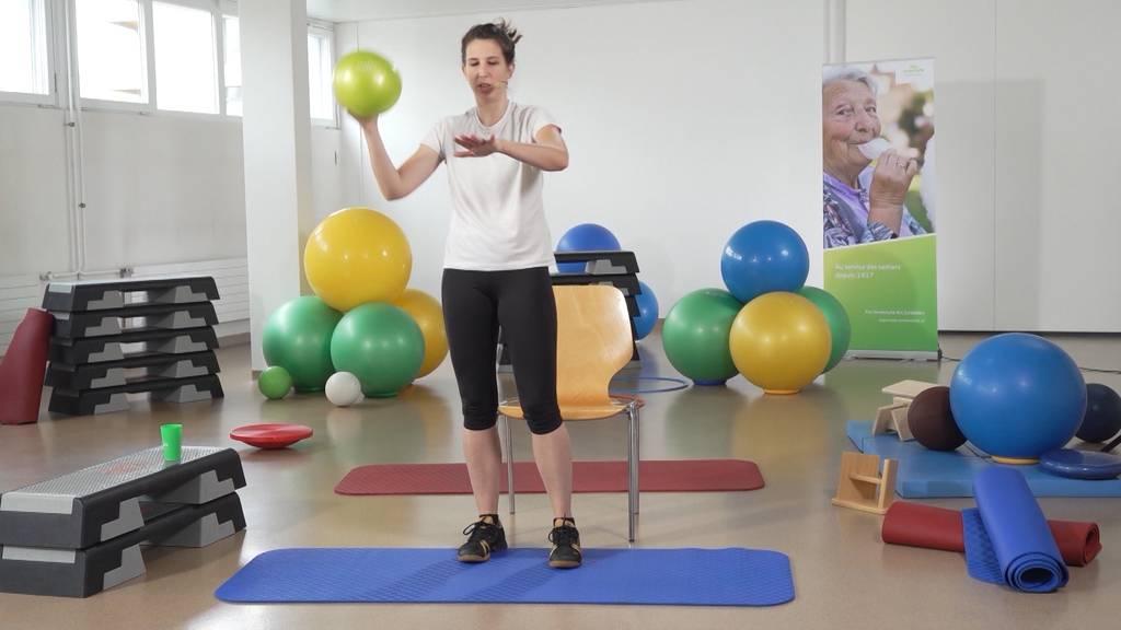 «Gymnastik im Wohnzimmer» vom 12. Juli 2021