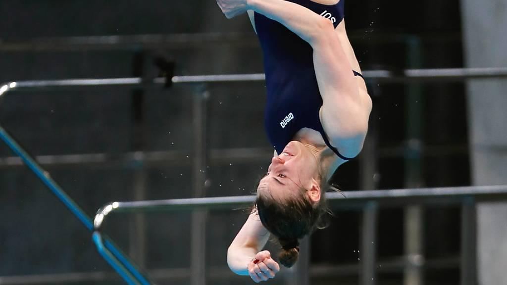 Michelle Heimberg schwingt sich vom 1-m-Brett zu EM-Silber