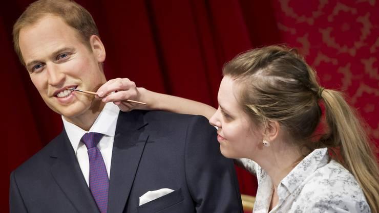 Letzte Verschönerungen an Prinz William
