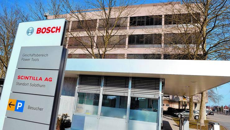 Bosch verlagert von Frauenfeld nach Osteuropa - am Standort Zuchwil für den Bereich Zubehör will Bosch festhalten. (Archiv)