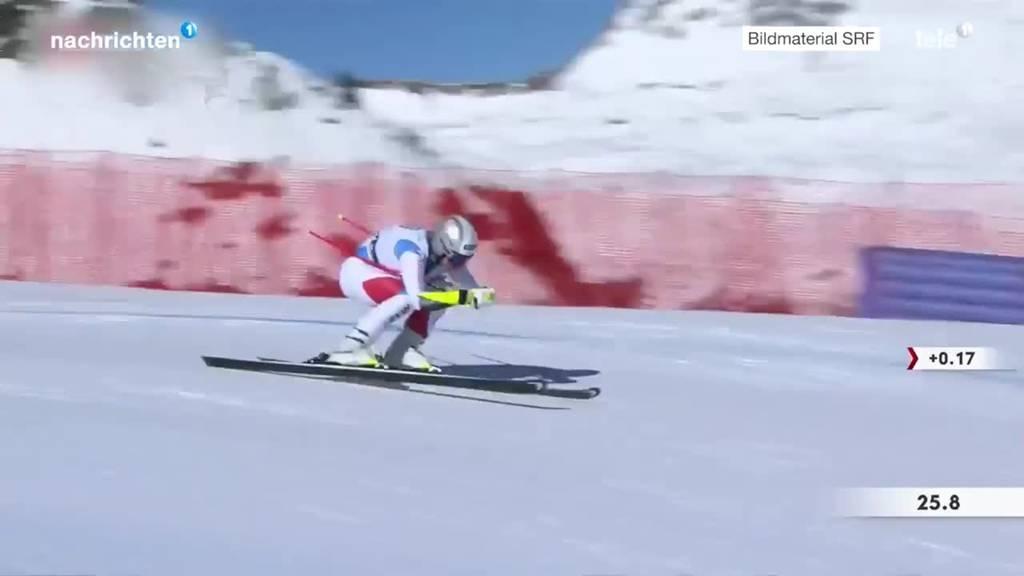 Ski Alpin Super G Frauen