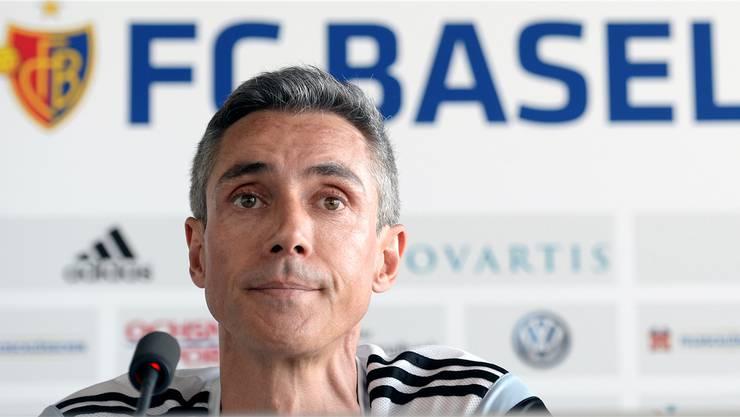 Paulo Sousa und der FC Basel gehen getrennte Wege.