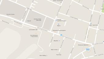 Zum Unfall kam es im Bereich der Verzweigung Spitzwaldstrasse/Binningerstrasse in Allschwil.